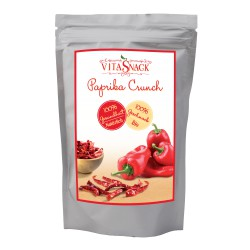 Bio Knusprige Paprika Chips 24 gr. Vegan-Rohkost